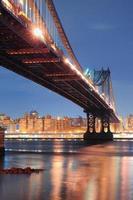 New York City Manhattan Brücke foto