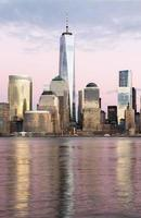 Manhattan Wolkenkratzer foto