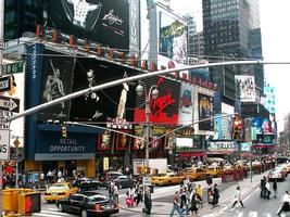 New York City 46. & Broadway foto