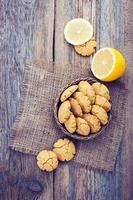 hausgemachte Zitronenplätzchen