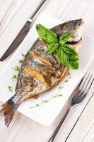 Dorado Fisch mit Zitrone