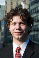 junger Geschäftsmann foto