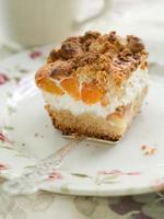 Aprikosenkuchen foto