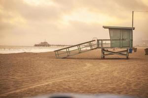 Rettungsschwimmerturm foto