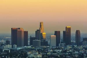 Blick in die Innenstadt von Los Angeles