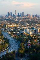 Los Angeles bei Sonnenuntergang foto