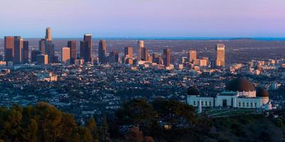 Los Angeles Skyline foto