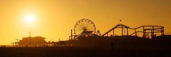 Santa Monica Pier foto
