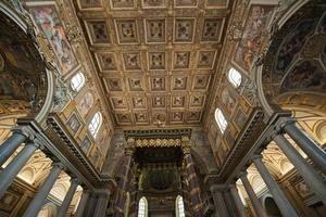 Basilika von Saint Mary Major (Santa Maria Maggiore) (Rom, Italien) foto