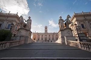 Hauptstadt (Campidoglio) - Rom, Italien foto