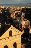 Rom von oben, Kolosseum foto