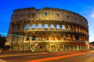 Kolosseum in Rom. Italien foto