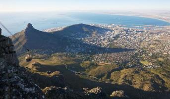 Blick auf den Tafelberg foto