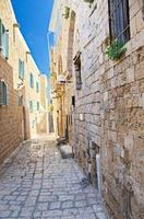 Gasse in Jaffa, Tel Aviv foto