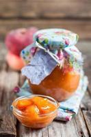 Pfirsich-Marmelade foto