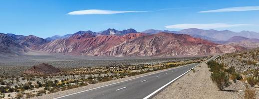 Grenze Chile und Argentinien, Paso San Francisco foto
