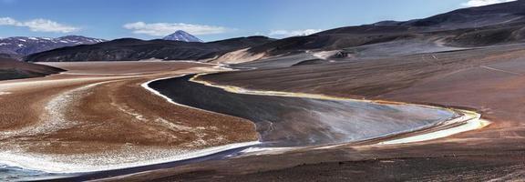 schwarze Lagune, Vulkanpisse, Katamarca, Argentinien