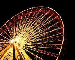 Riesenrad am Navy Pier foto