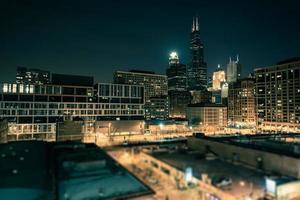 Innenstadt von Chicago Süd foto
