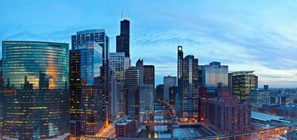 Stadt von Chicago foto
