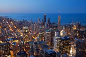 Stadt von Chicago.