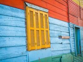 La Boca Fensterrahmen foto