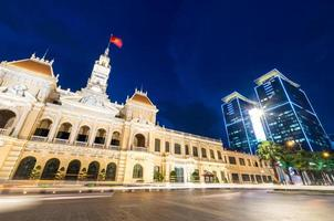 Gebäude des Volkskomitees in der Stadt Ho Chi Minh