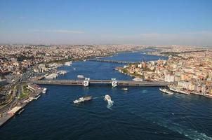 Istanbul schießen aus der Luft foto