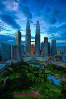 Skyline von Kuala Lumpur foto
