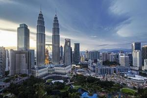 Petronas Türme Kuala Lumpur foto