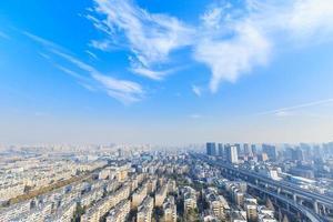 Hangzhou städtischen Wohngebieten Landschaft foto