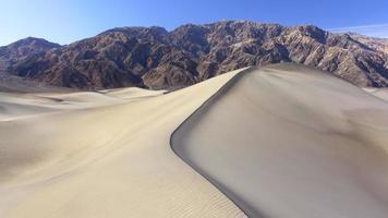 Dünen im Death Valley foto