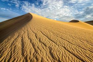Sanddünen, Wüste, Death Valley, foto