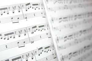 Musiknoten foto