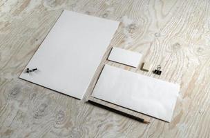 Briefpapiervorlage foto