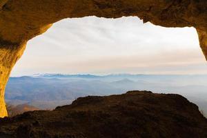 Großsegel und Höhlen foto