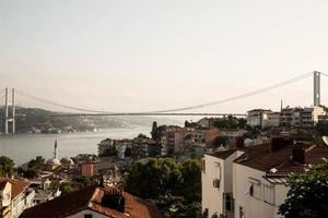 Blick auf den Bosporus foto