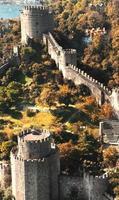 Luftansicht der Rumeli-Festung 2 foto