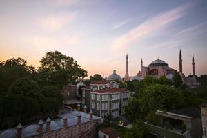 Hagia Sophia Langzeitbelichtung