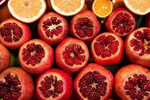 frische Früchte mischen