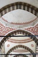 Detail der blauen Moschee in Istanbul foto