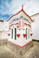 malerischer kleiner Kiosk in Lagos, Algarve, Portugal. foto