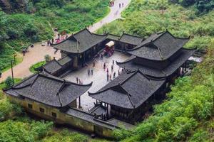 Wulong Nationalpark, Chongqing, China foto
