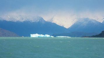 mañana en lago helado foto