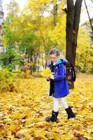 Kind Mädchen im Park