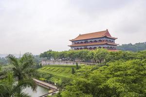 Guangzhou Panyu Lotus Berg landschaftlich foto
