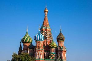 Kathedrale des Heiligen Basilikums, Moskau foto