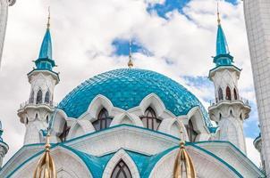 die kul sharif moschee im kazan kreml, tatarstan, russland