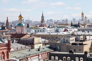 historisches Zentrum der Stadt Moskau mit Kreml foto