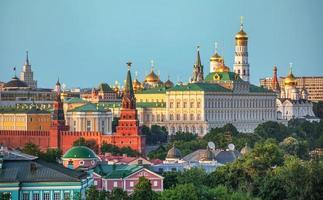 das historische Zentrum von Moskau foto